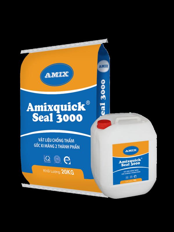 Amixquick Seal 3000 – chống thấm gốc xi măng 2 thành phần