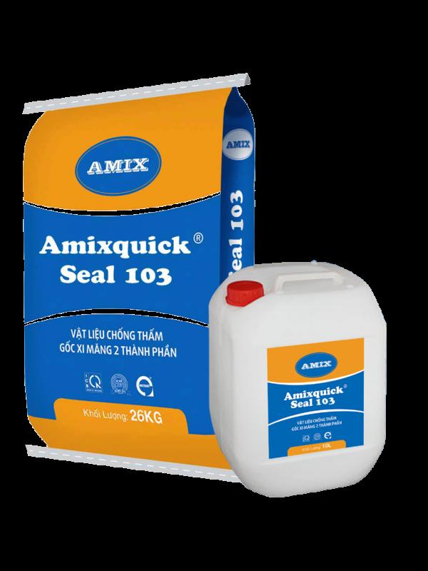 Amixquick seal 103 – Vữa chống thấm gốc polymer cải tiến, 2 thành phần