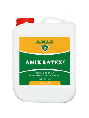 Amix Latex – Phụ gia chống thấm