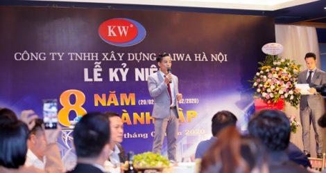 Công ty TNHH xây dựng Kaiwa Hà Nội (KABUILD) tổ chức lễ kỷ niệm 8 năm ngày thành lập.