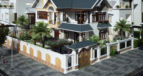 Kiến trúc biệt thự mini đẹp được nhiều người ưa chuộng