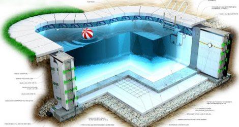 Biện pháp xử lý mạch ngừng giữa đáy và thành bể bơi